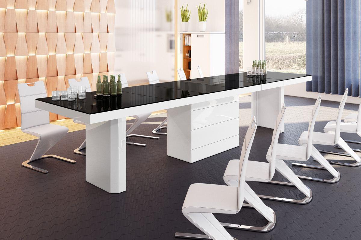 Designertisch Esstisch Modern Lugo140 Mega Esszimmertisch Holz Edel Tisch Luxus Ebay