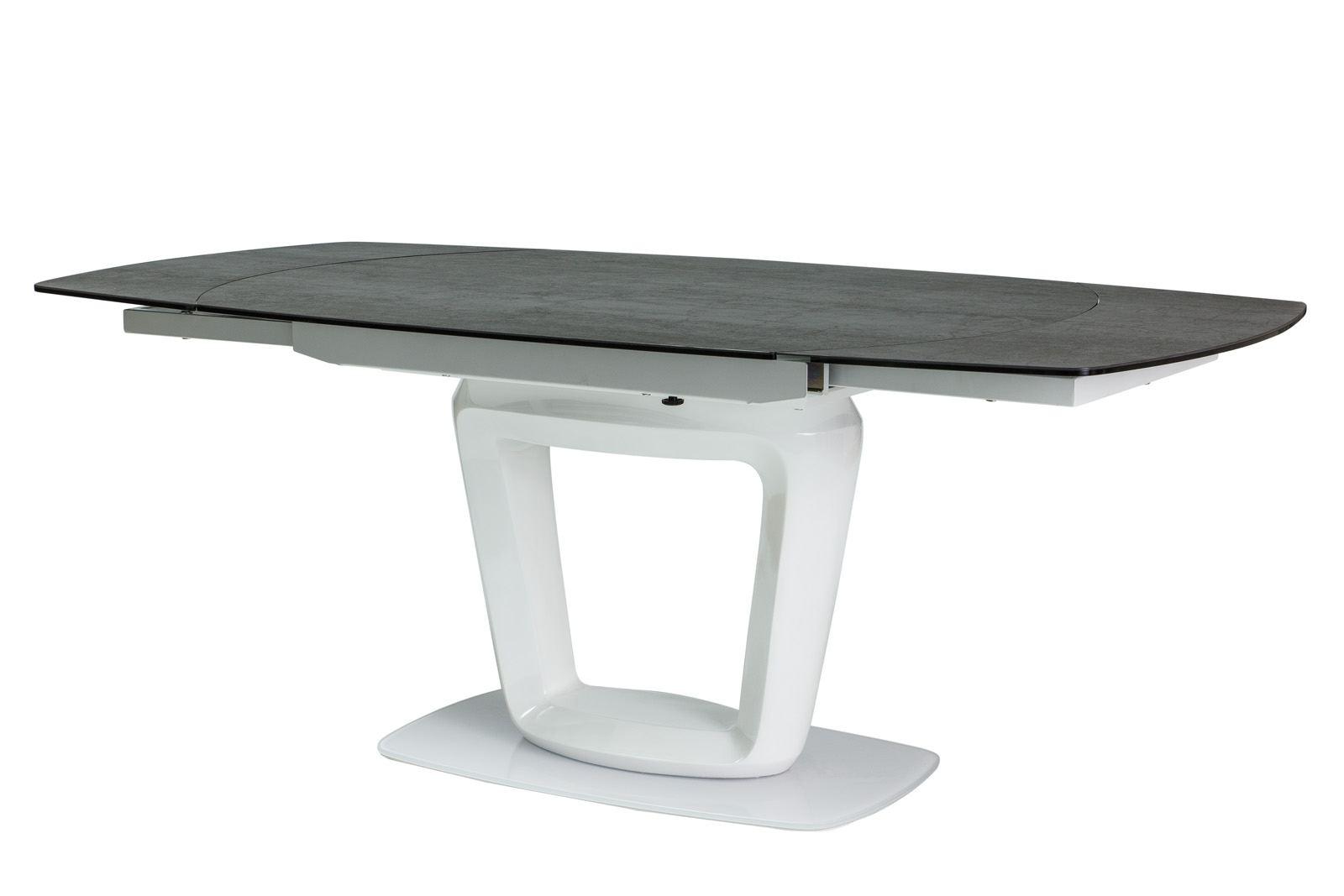 Esstisch ceramic mit tischplatte aus keramik modern design for Esstisch ausklappbar