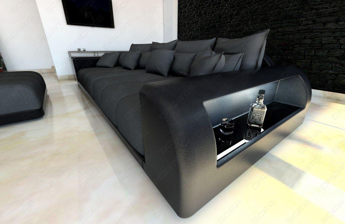 big sofa mit hocker fabulous schne big sofa xxl big sofa. Black Bedroom Furniture Sets. Home Design Ideas