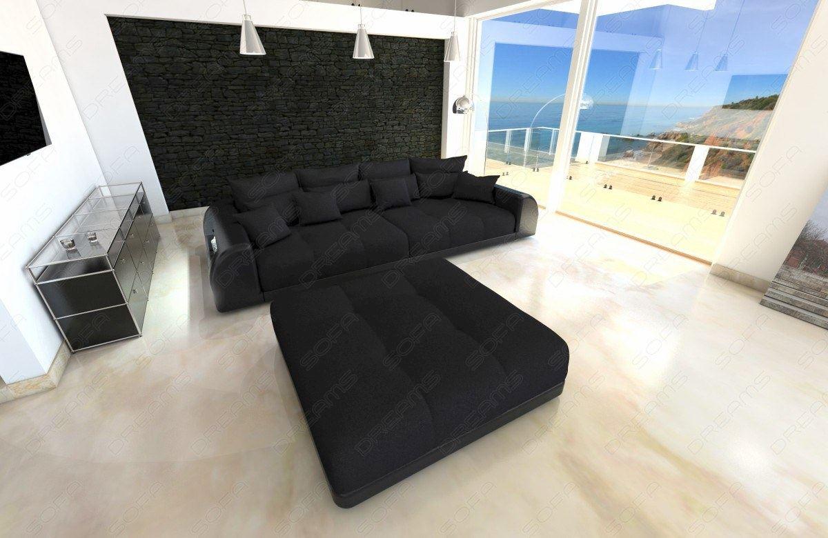 Xxl Big Sofa Miami Megasofa Mit Beleuchtung Bigsofa Mega Couch Ebay