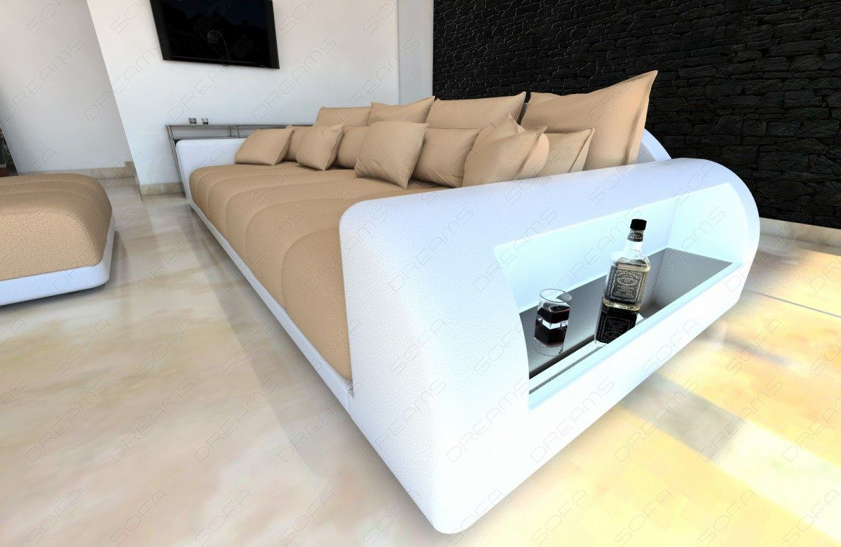 xxl big sofa miami megasofa mit beleuchtung bigsofa mega. Black Bedroom Furniture Sets. Home Design Ideas