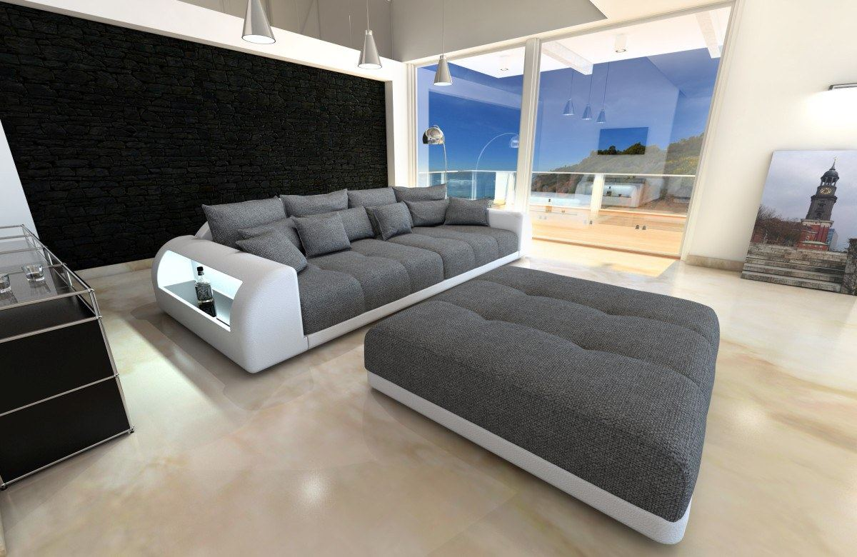 big sofa mit led beleuchtung die neueste innovation der. Black Bedroom Furniture Sets. Home Design Ideas