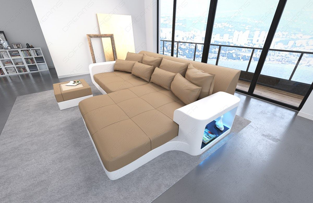 Big sofa mit led beleuchtung die neueste innovation der for Eckcouch mit led