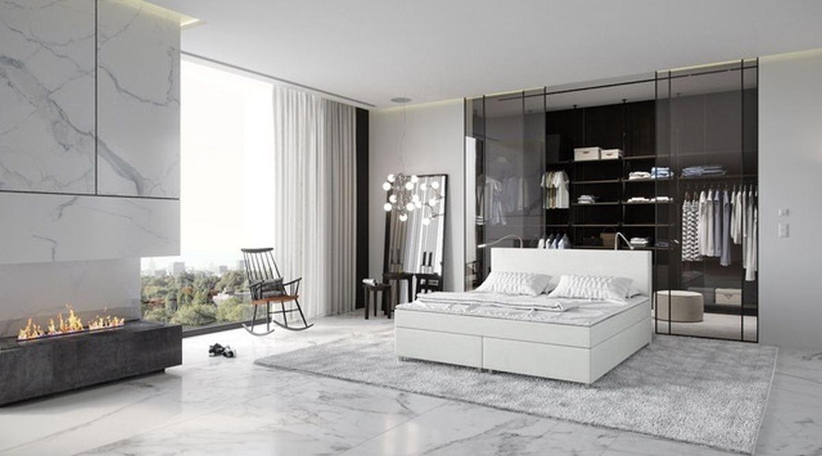 boxspringbett dresden komplettes bett designerbett bonell federkern visco topper ebay. Black Bedroom Furniture Sets. Home Design Ideas