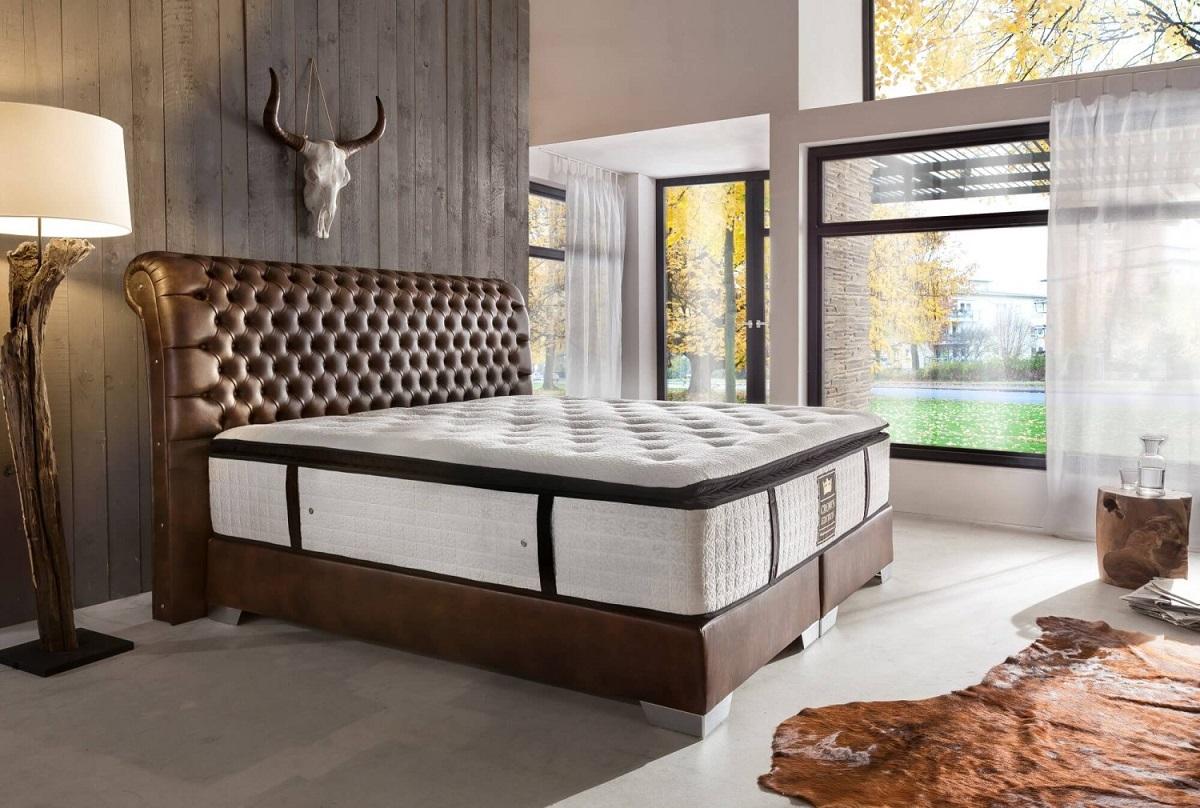 boxspringbett luxus hotelbett luxor antik design komplettes doppel bett farbwahl ebay. Black Bedroom Furniture Sets. Home Design Ideas