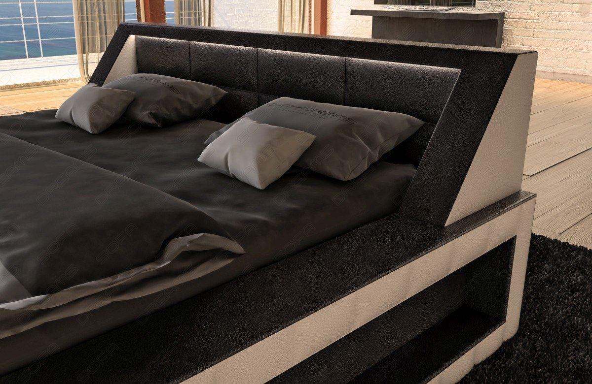hotelbett design boxspringbett matera mit beleuchtung. Black Bedroom Furniture Sets. Home Design Ideas