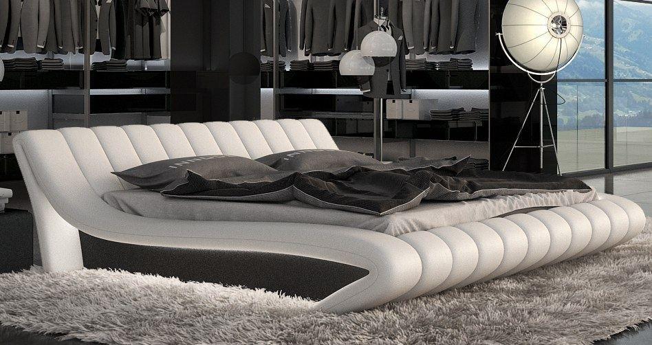 cama futon sof dise o ferrara en cuero cama de dise o ebay. Black Bedroom Furniture Sets. Home Design Ideas