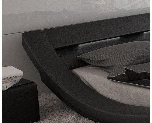 designerbett polsterbett massa beleuchtung design futon. Black Bedroom Furniture Sets. Home Design Ideas