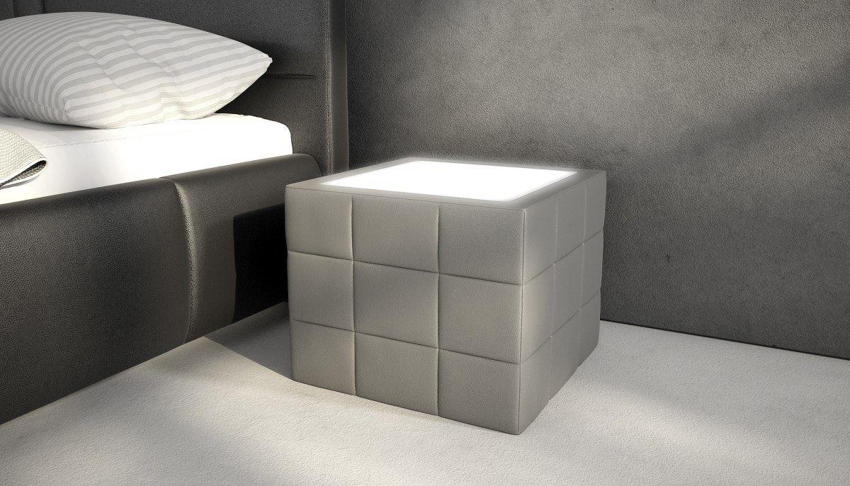 nachttisch nachtschrank beistelltisch night mit. Black Bedroom Furniture Sets. Home Design Ideas
