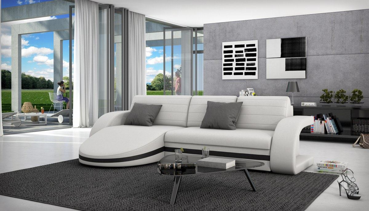 schlafcouch l form schlafcouch l form haus planen ecksofa braun cappuccino webstoff ecksofas l. Black Bedroom Furniture Sets. Home Design Ideas