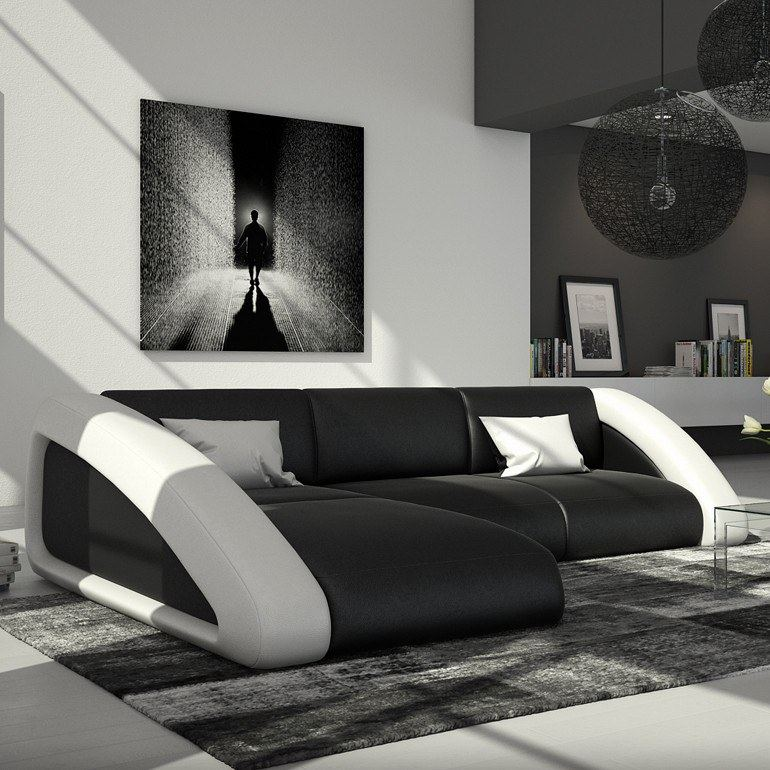 ledersofa nassau l form ecksofa design sofa eckcouch. Black Bedroom Furniture Sets. Home Design Ideas