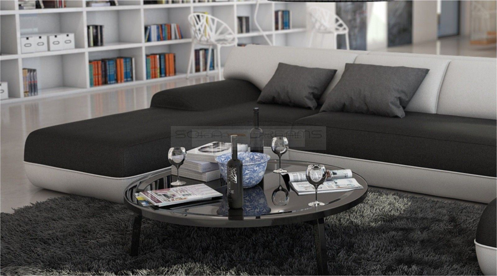 interior design sofa corner couch vida u shaped. Black Bedroom Furniture Sets. Home Design Ideas