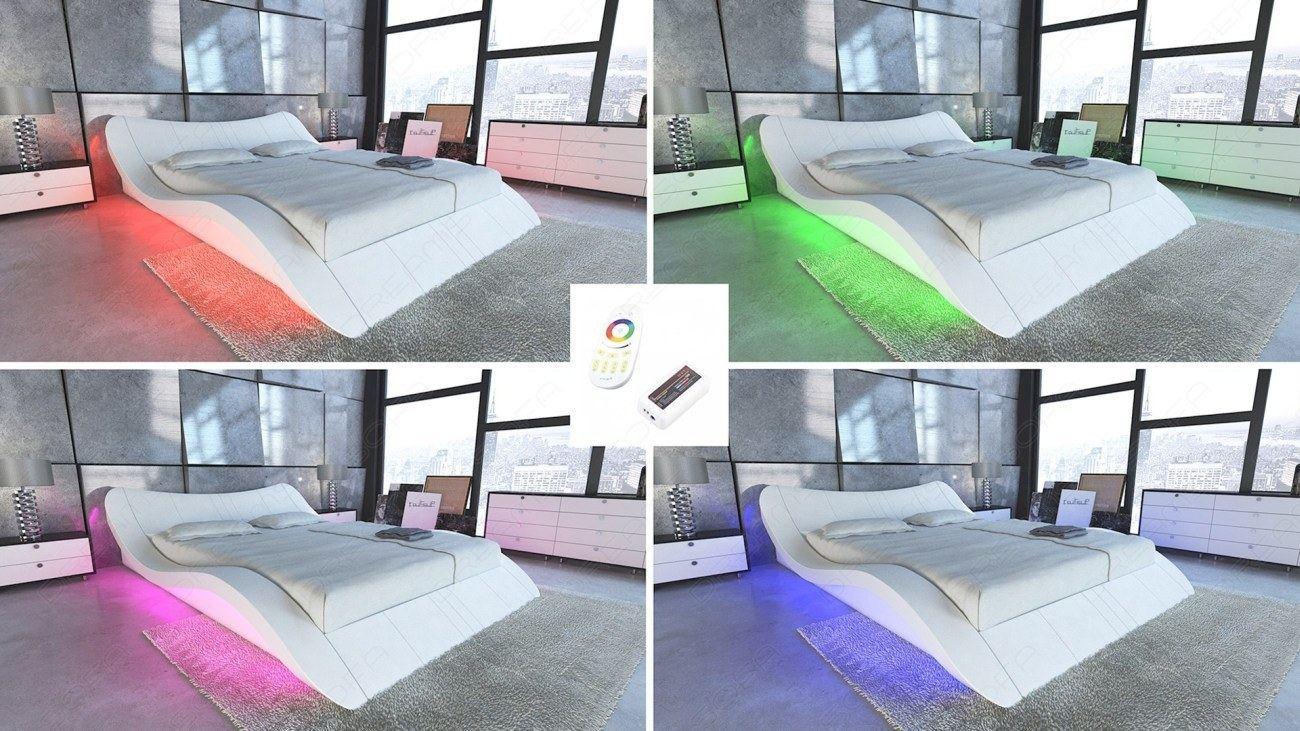 Design polsterbett lederbett designerbett doppelbett for Designer frankfurt