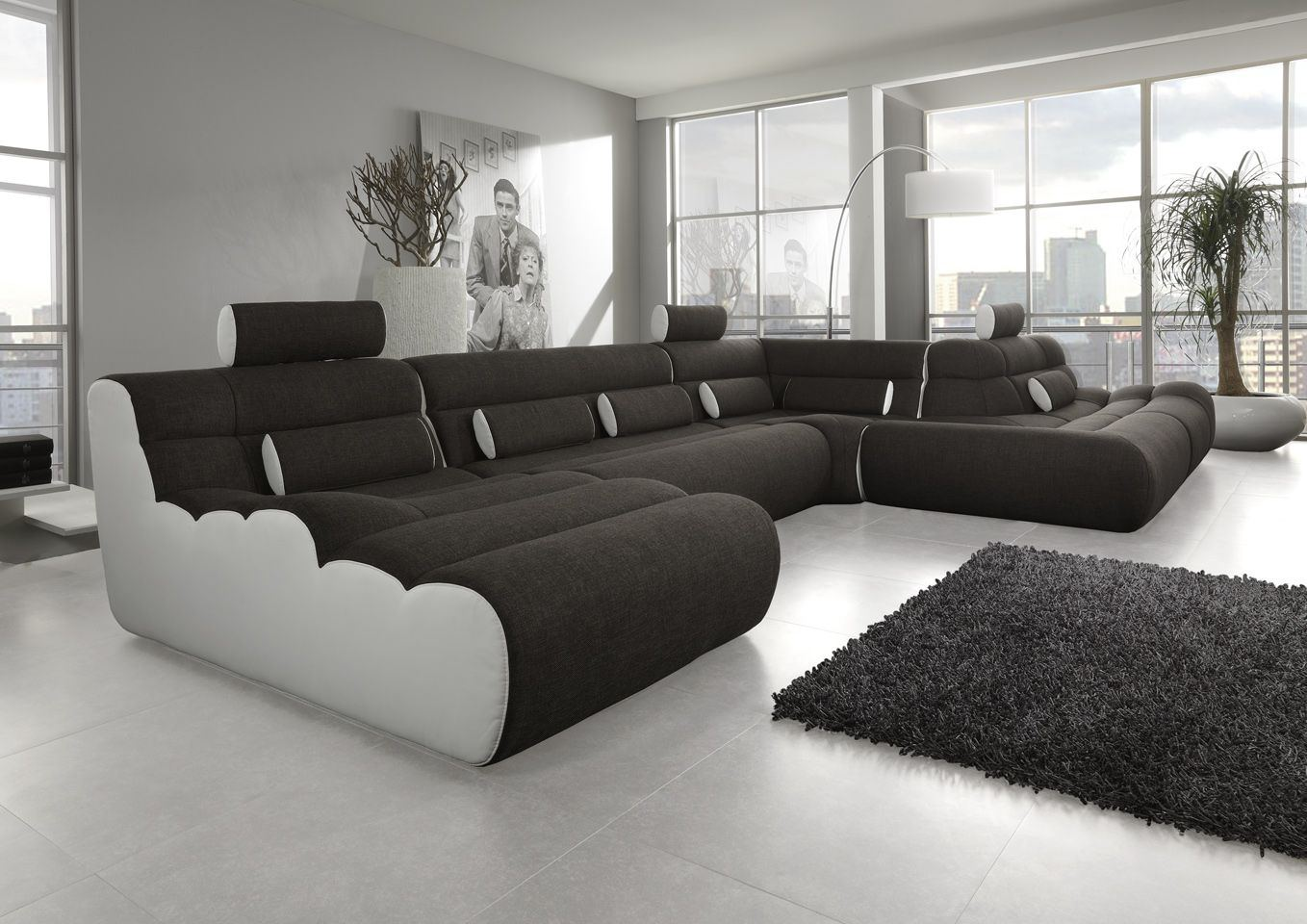 systemsofa ecksofa elements 9 create your own style. Black Bedroom Furniture Sets. Home Design Ideas