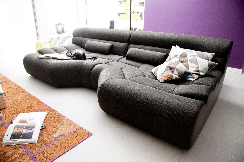 Megasofa Big Sofa TRAPEZ Megasofa Designer Wohnlandschaft ...