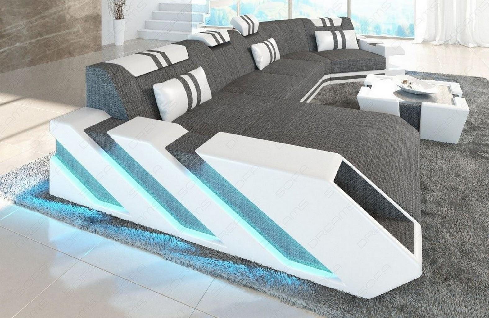 designer living landscape big fabric leather luxury sofa. Black Bedroom Furniture Sets. Home Design Ideas