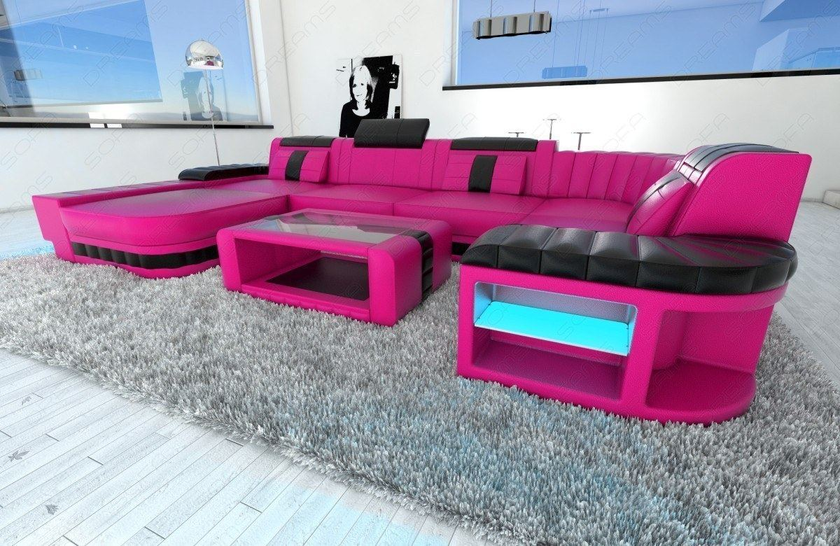 upholstered sofa interior design bellagio u shaped design. Black Bedroom Furniture Sets. Home Design Ideas