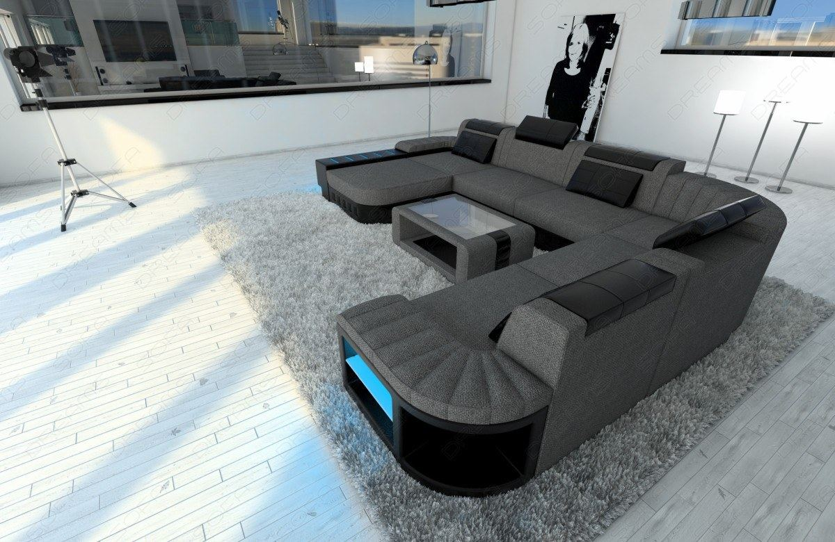 sofa mit led great bild von ecksofa mit led beleuchtung u ecksofa sconto der m belmarkt with. Black Bedroom Furniture Sets. Home Design Ideas