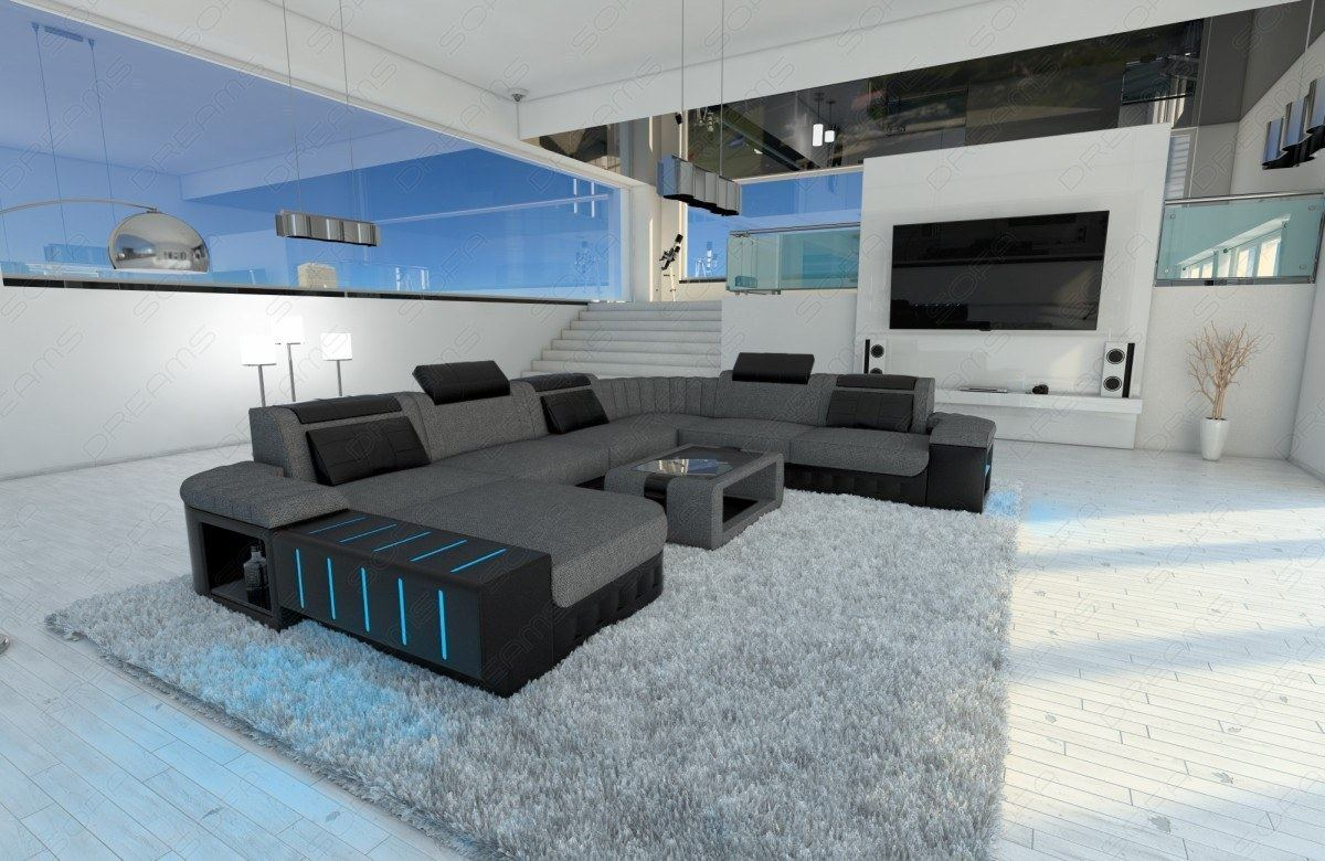 schlafsofa mit led good leather sectional sofa enzo xxl black pink ebay with schlafsofa mit led. Black Bedroom Furniture Sets. Home Design Ideas