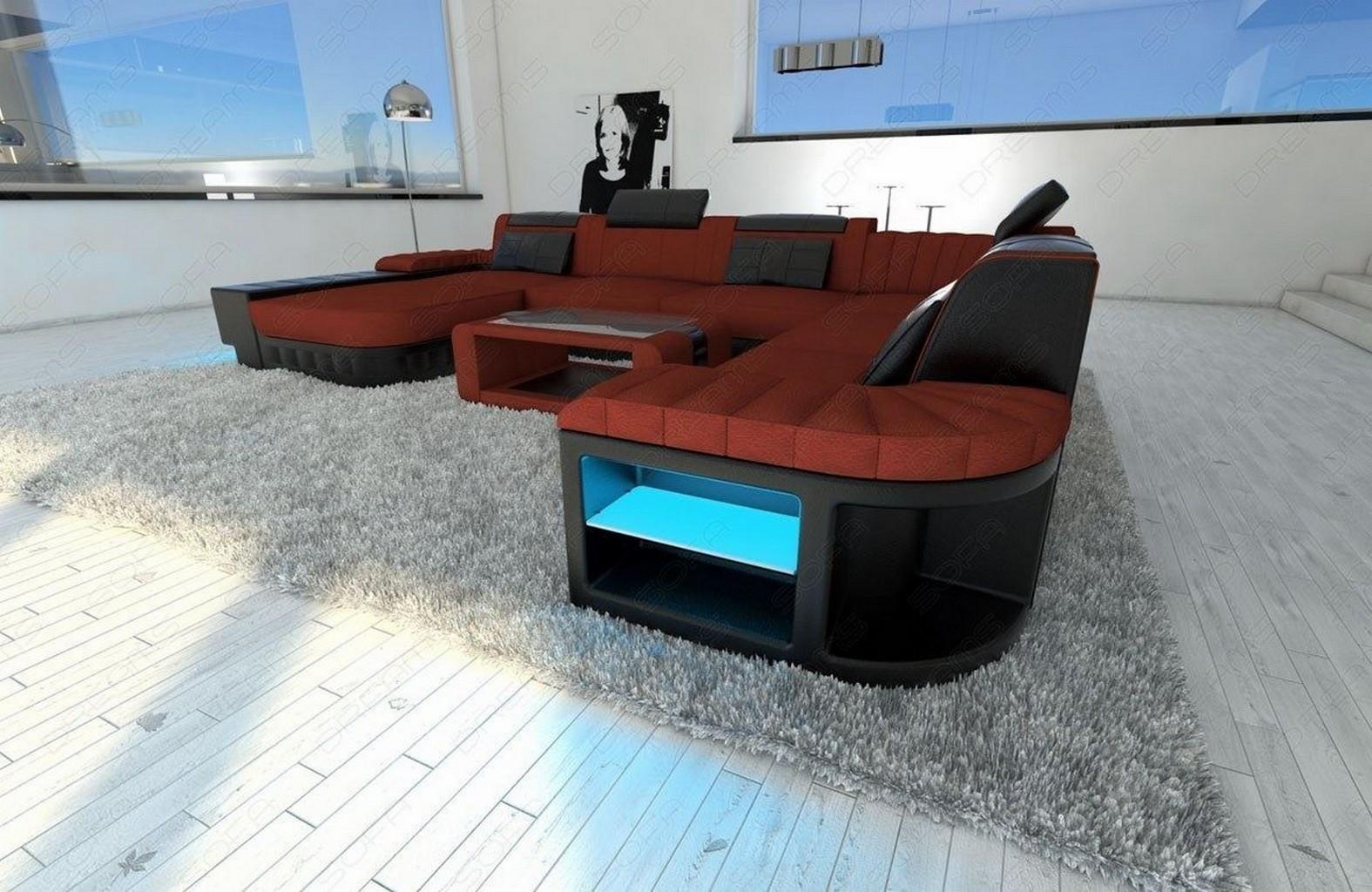 Design polsterecke wohnlandschaft bellagio xxl couch for Designer wohnlandschaft xxl