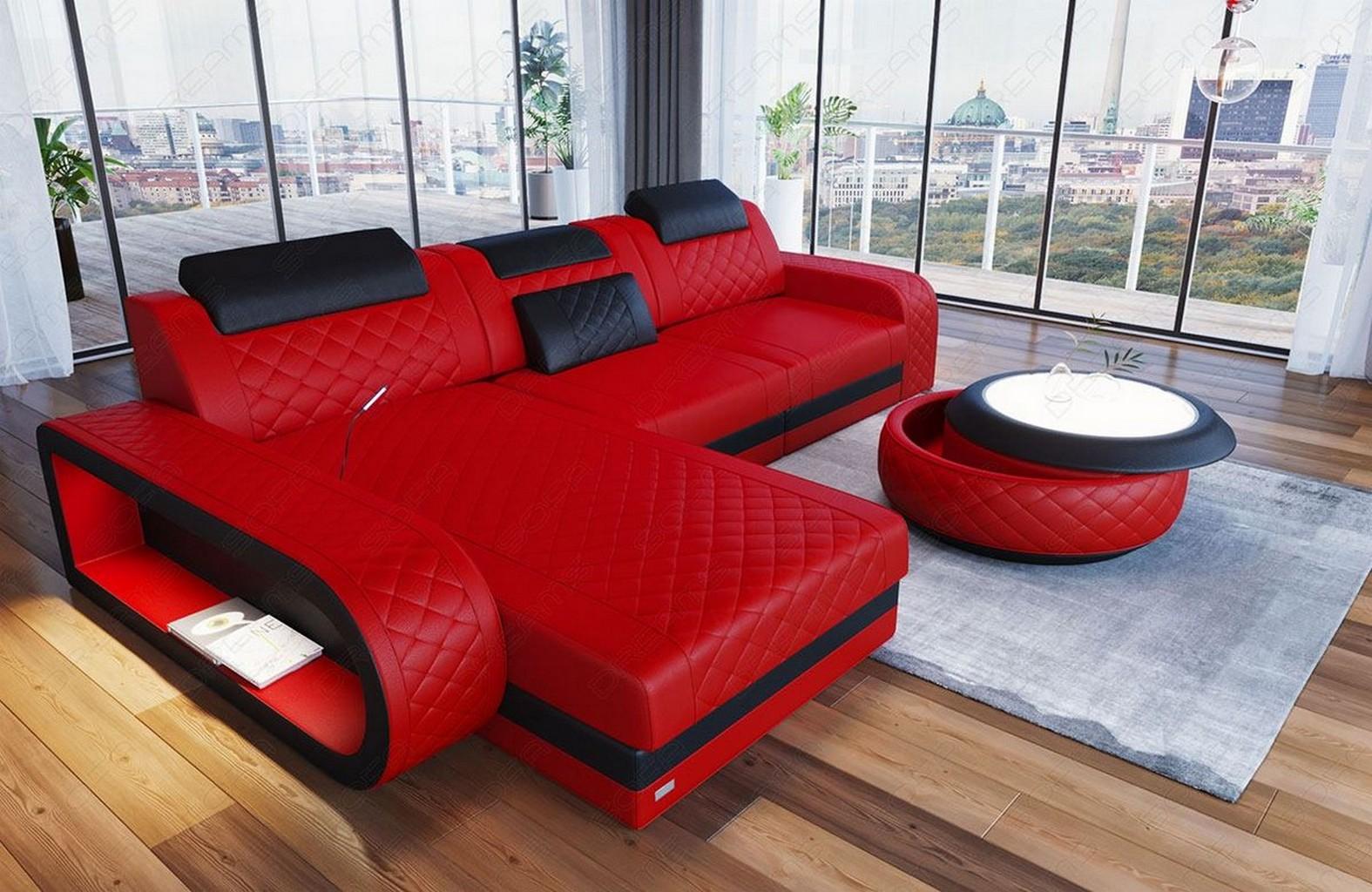 ledersofa eckcouch sofa design luxus couch berlin l form. Black Bedroom Furniture Sets. Home Design Ideas