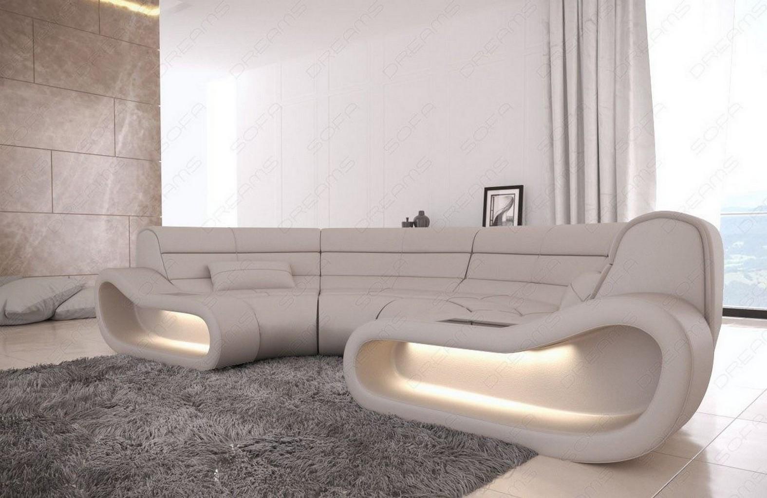 ecksofa megacouch leder big sofa concept u form wohnzimmer. Black Bedroom Furniture Sets. Home Design Ideas