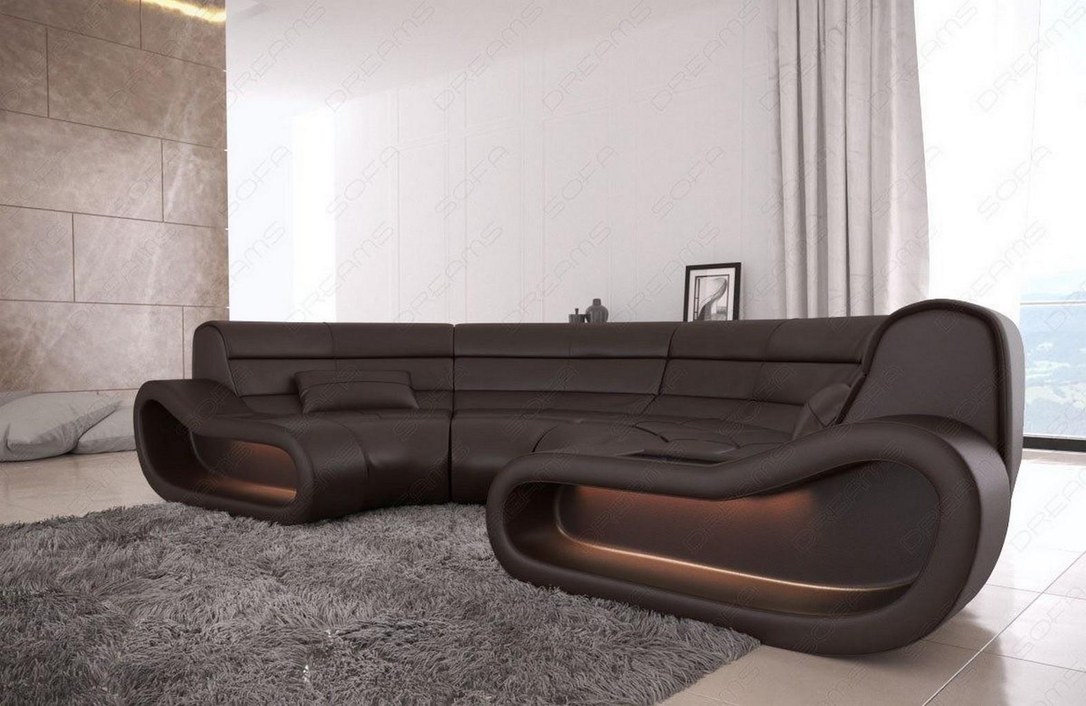 leder couch bigsofa ecksofa megacouch gem tlich. Black Bedroom Furniture Sets. Home Design Ideas