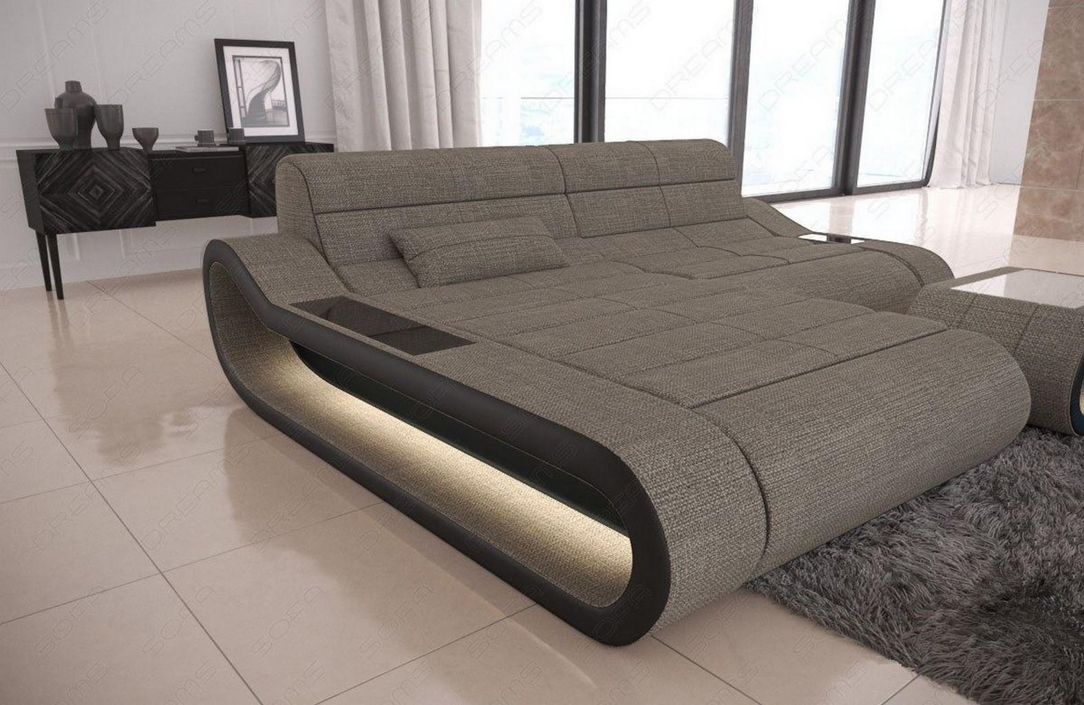 Faszinierend Sofa L Form Grau Das Beste Von Designersofa Stoff Concept Led Lampen H4 Ergebnis