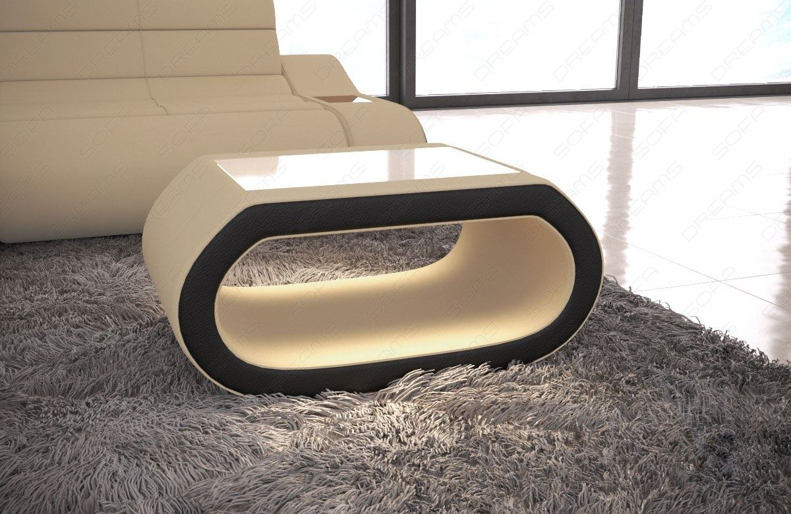 Couchtisch Sofatisch Wohnzimmer Tisch Modern Luxus Stoff Tisch ...