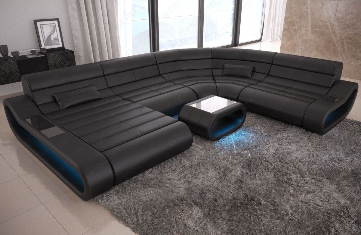 Luxury Sectional Sofa Concept Xl Design Couch Big Led