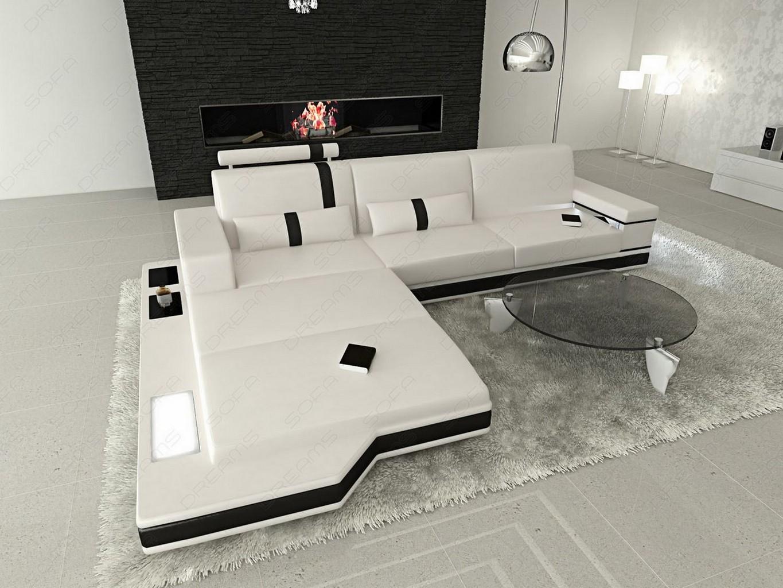 couchgarnitur licht messana design wohnlandschaft sofa ebay. Black Bedroom Furniture Sets. Home Design Ideas