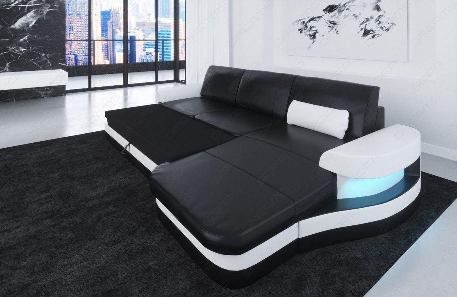 leather corner sofa couch modena l shaped design optional. Black Bedroom Furniture Sets. Home Design Ideas