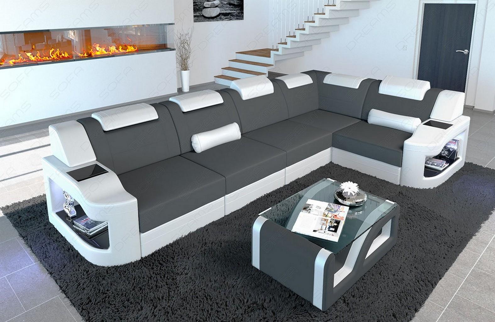 Fabric Sectional Sofa Manhattan L Shape