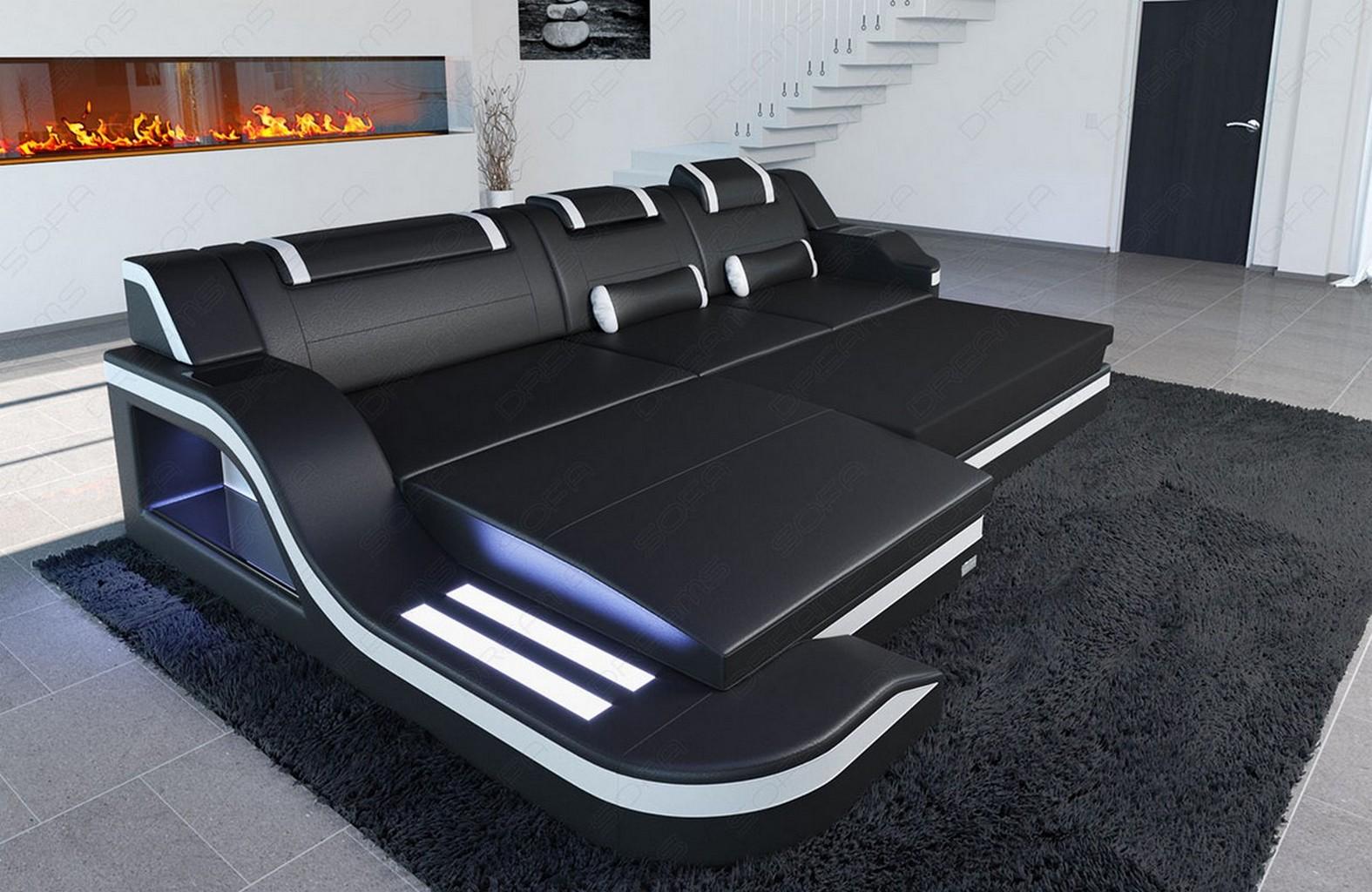 sofa mit schlaffunktion gebraucht design fabric leather. Black Bedroom Furniture Sets. Home Design Ideas