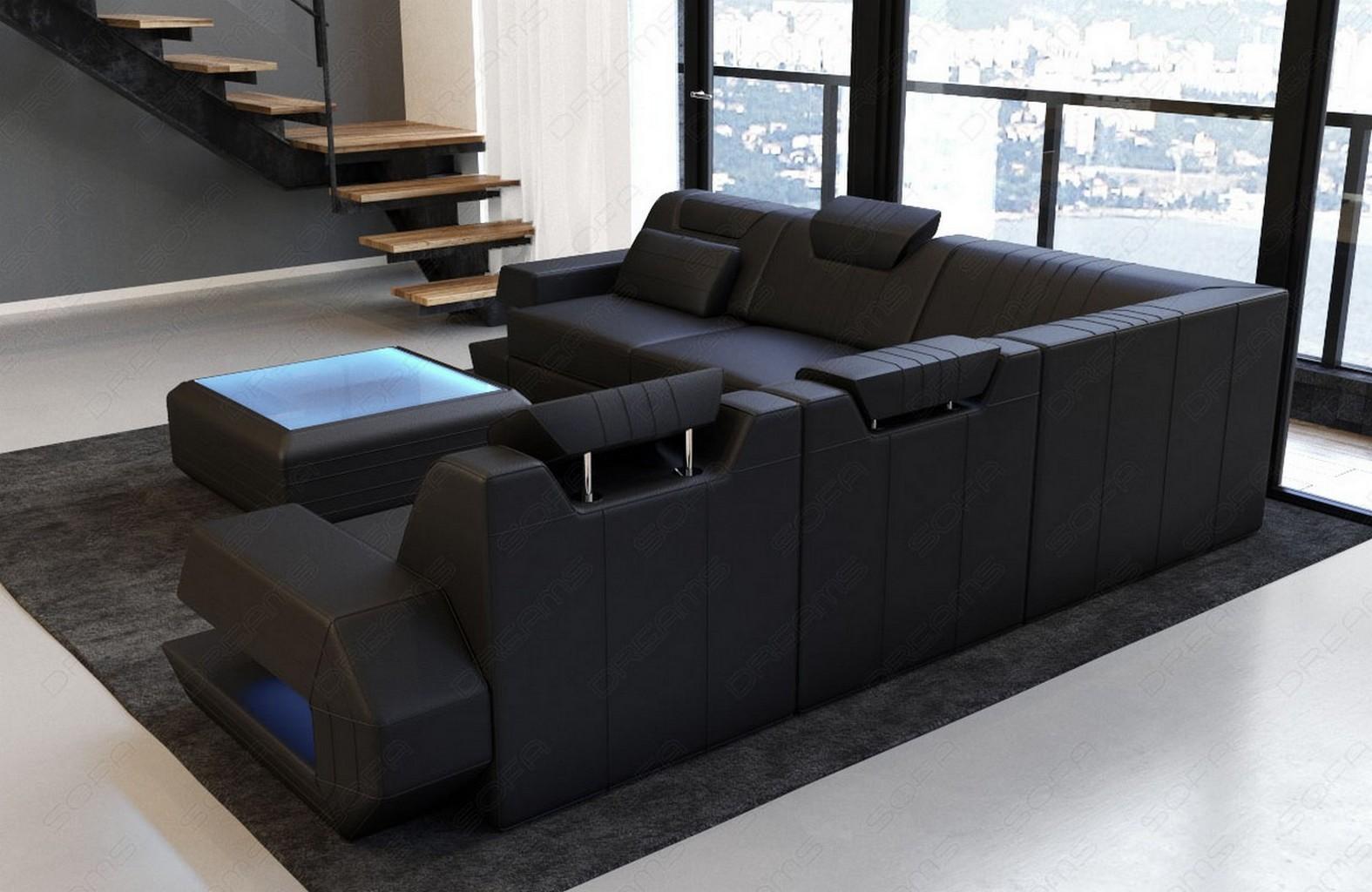 sofa luxus couch ecksofa ragusa l form designersofa. Black Bedroom Furniture Sets. Home Design Ideas