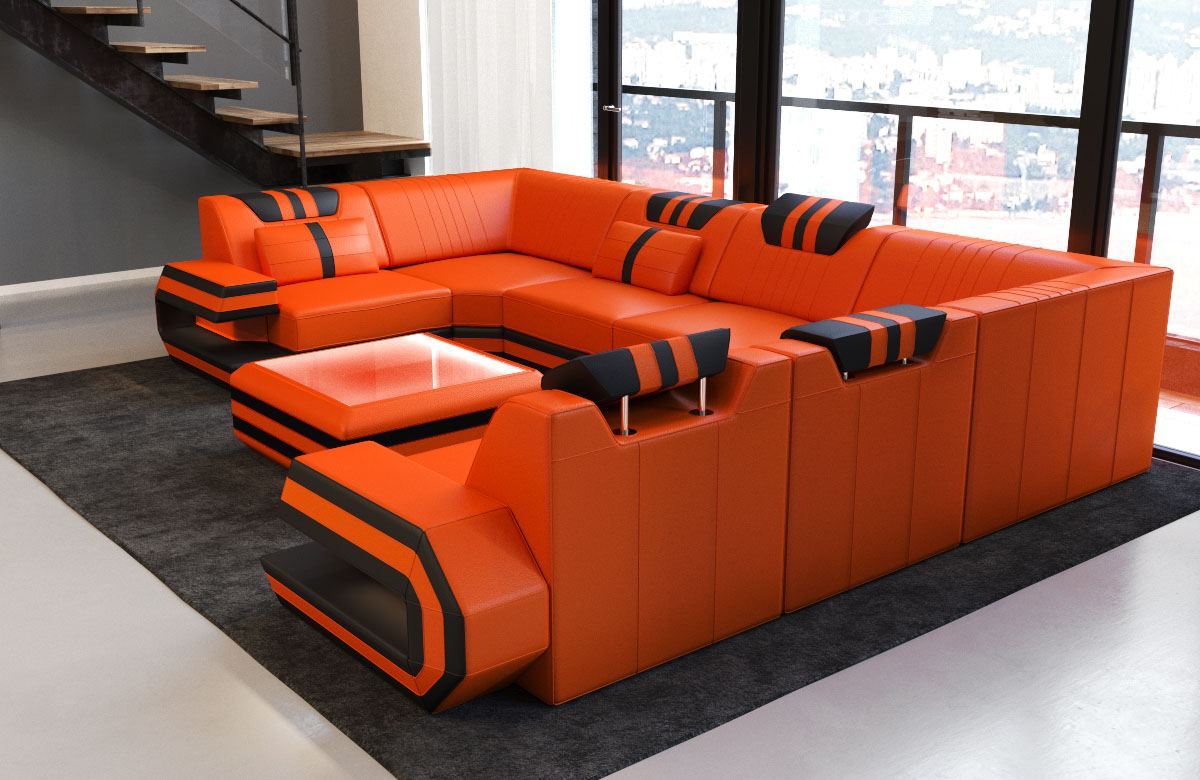leather interior leather couch designersofa couch ragusa u. Black Bedroom Furniture Sets. Home Design Ideas