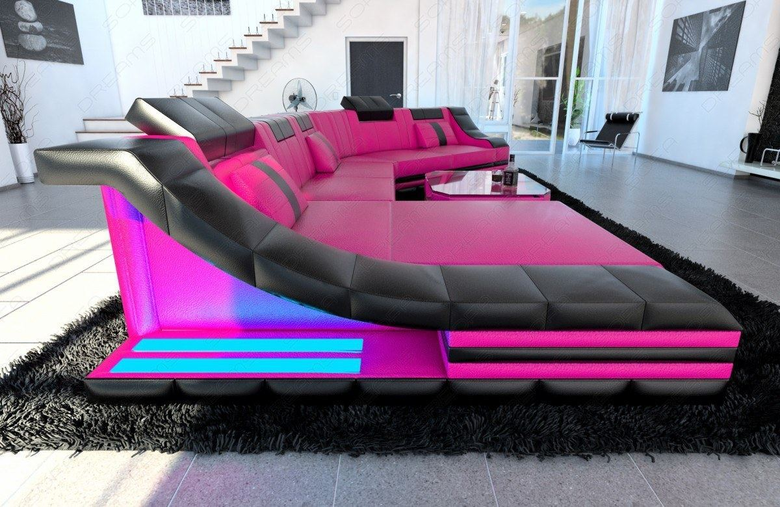 xxl sofa mit beleuchtung corner sofa xxl interior design. Black Bedroom Furniture Sets. Home Design Ideas