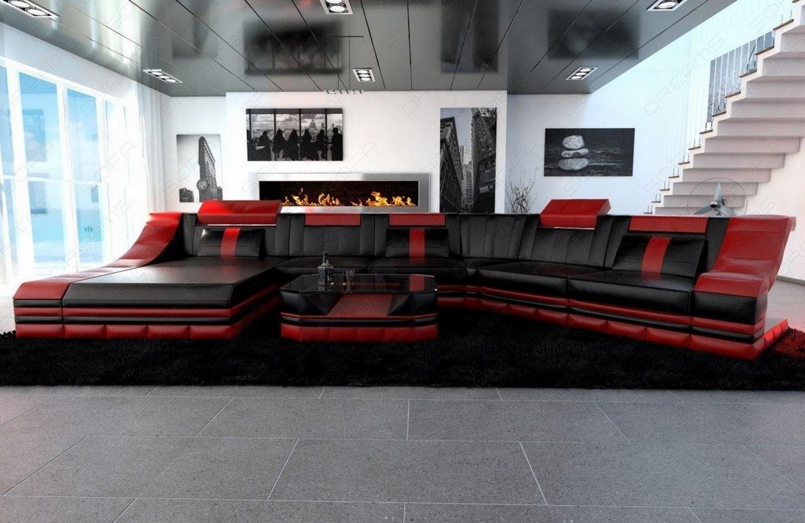 sofa mit beleuchtung otto modern sofa bellagio led l. Black Bedroom Furniture Sets. Home Design Ideas