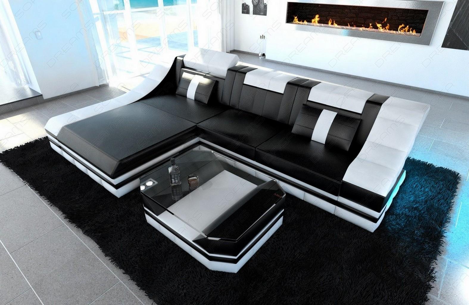 sofa weis schwarz ~ artownit for ., Hause deko