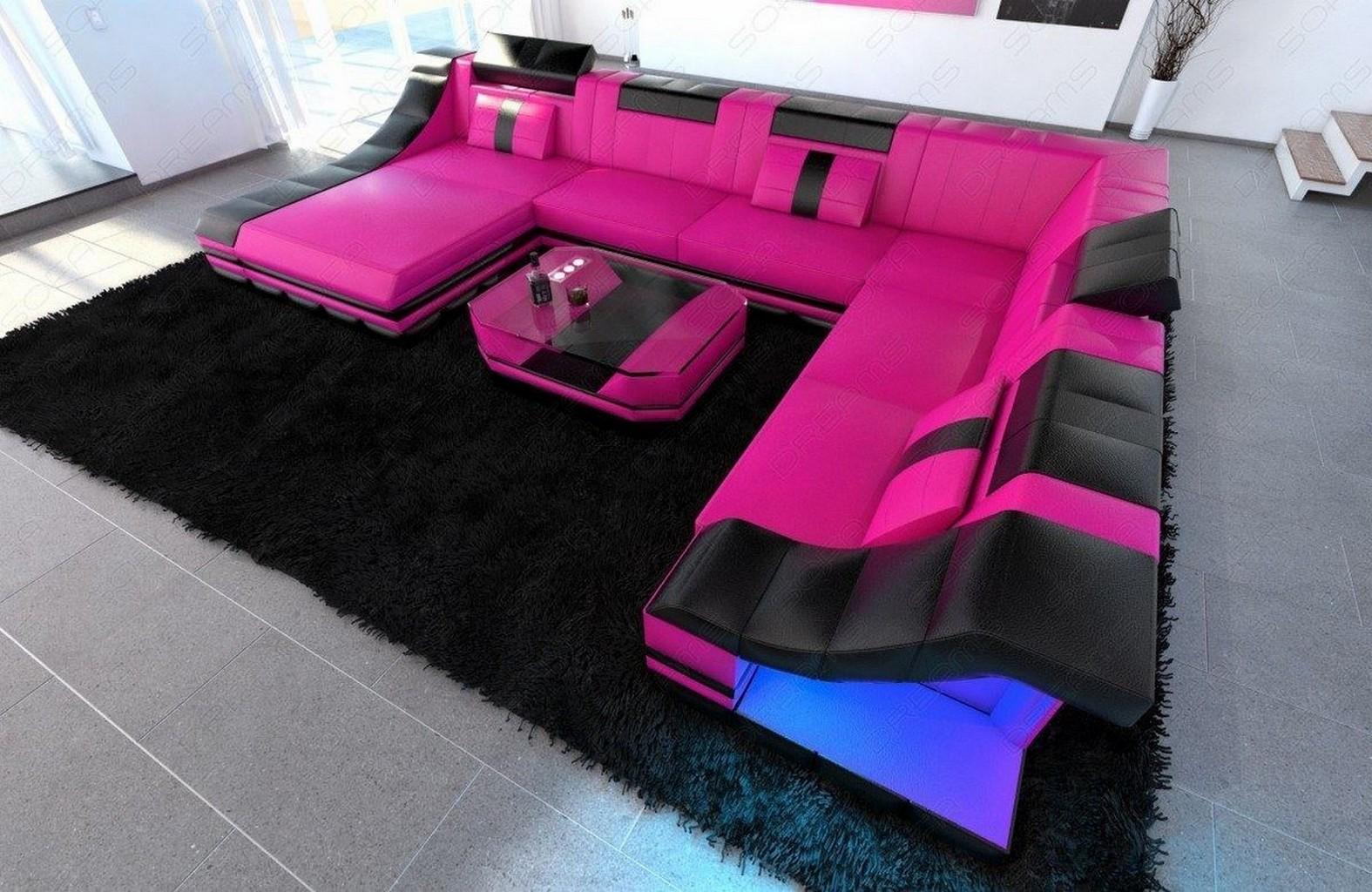 xxl sofa mit beleuchtung xxl big sofa miami megasofa mit. Black Bedroom Furniture Sets. Home Design Ideas
