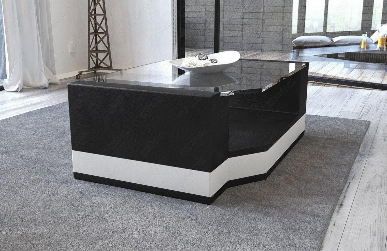 couchtisch leder wohnzimmertisch messana beistelltisch. Black Bedroom Furniture Sets. Home Design Ideas