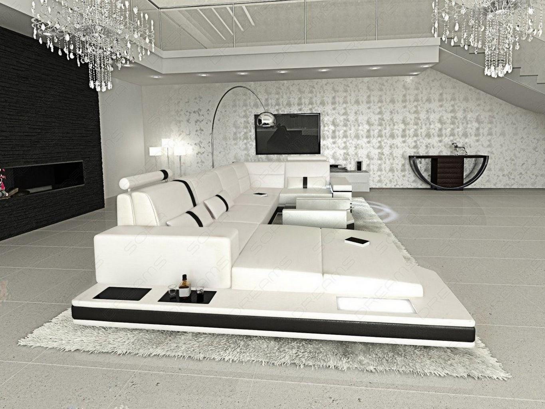 Riesensofa  Sofa Design Kunstledersofa Messana Designercouch Wohnlandschaft ...