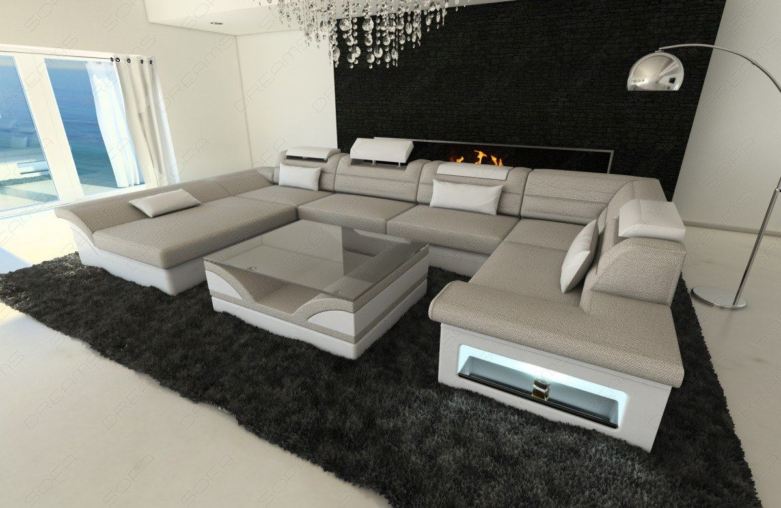 Sectional Sofa Atlanta U Designer Couch