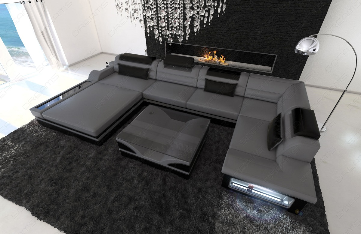 Ledersofas outlet und good couch with ledersofas outlet for Design ledersofa outlet
