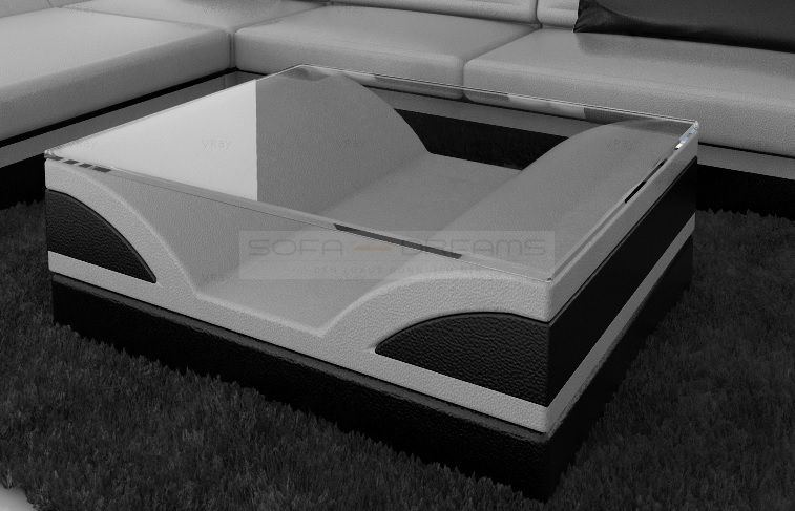 Couchtisch weis glas schwarz die neuesten innenarchitekturideen - Fruhlingsdeko tisch ...