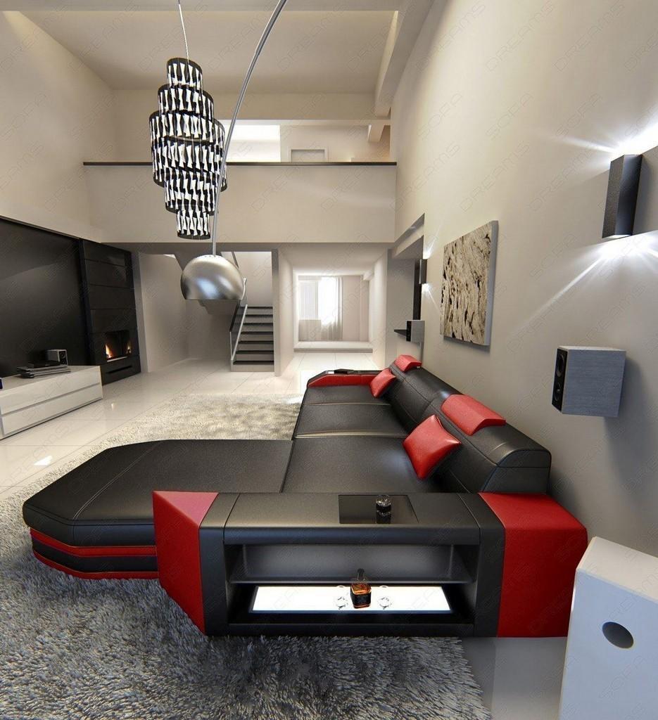 sofa rot schwarz simple jvmoebel rotschwarz sofa leder x x cm with couch leder schwarz with. Black Bedroom Furniture Sets. Home Design Ideas