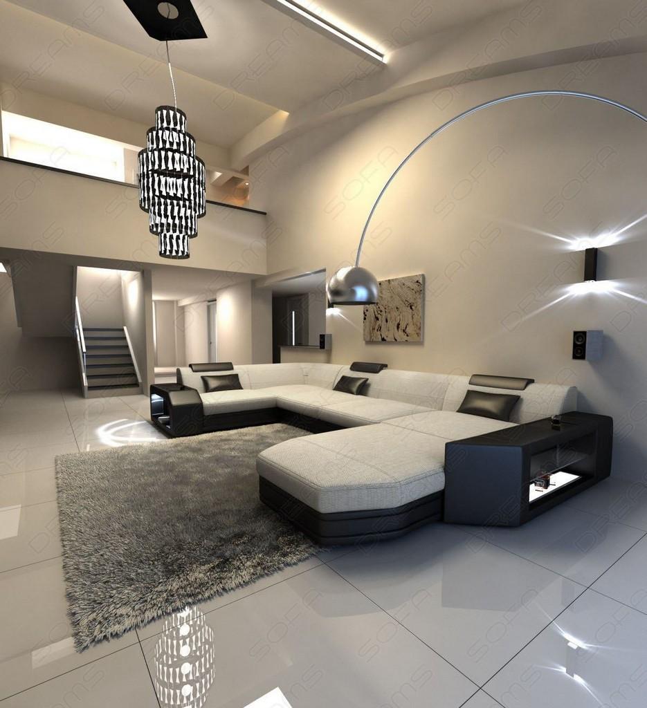 residential landscape presto u shape beige sofa corner. Black Bedroom Furniture Sets. Home Design Ideas