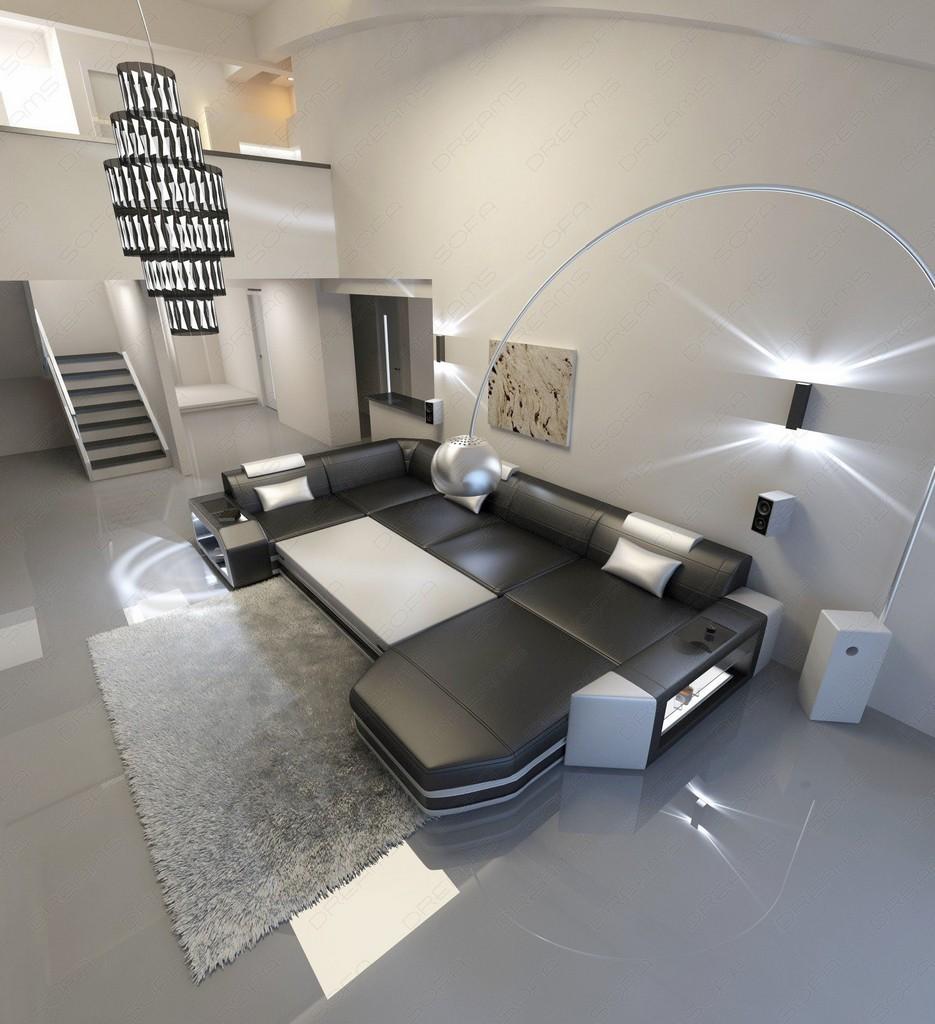 sofa u form mit schlaffunktion die feinste sammlung von home design zeichnungen. Black Bedroom Furniture Sets. Home Design Ideas