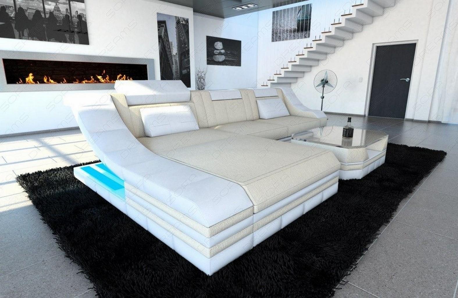 ecksofa mit beleuchtung stunning ecksofa couch sofa. Black Bedroom Furniture Sets. Home Design Ideas