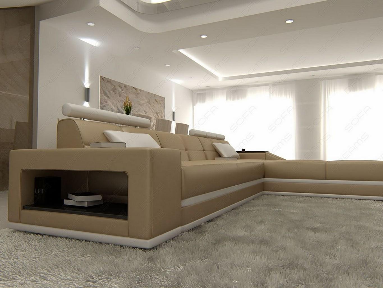 ecksofa mit beleuchtung fotos das wirklich elegantes. Black Bedroom Furniture Sets. Home Design Ideas